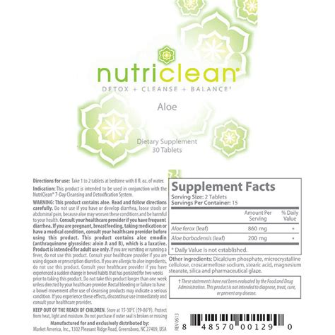 Nutriclean Detox by Nutriclean 174 Aloe Shop Global