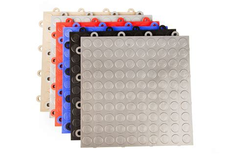 IncStores Nitro Tiles Coin Pattern Garage Basement