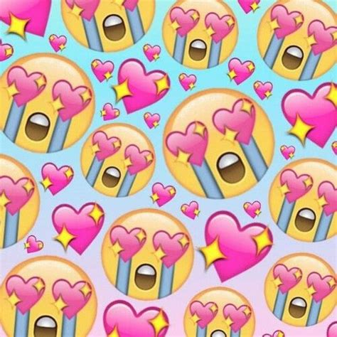 emoji wallpaper  emojis resmi love  pinterest