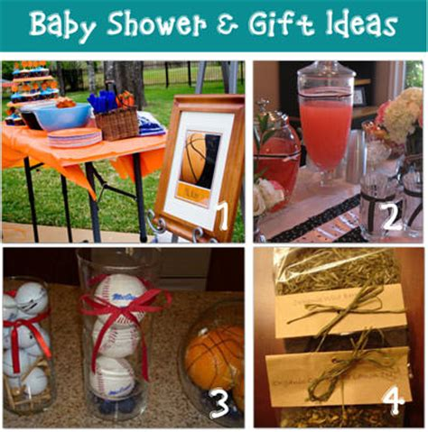 Sports Baby Shower Decorations by Creative Baby Shower Ideas Tip Junkie