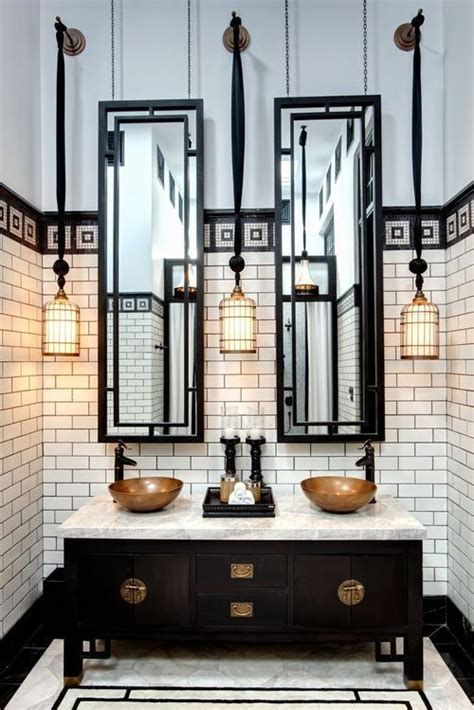 Deco Bathroom Decor by 3 Key Design Elements For Your Deco Inspired Bathroom