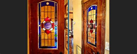 Stained Glass Pantry Doors by Custom Glass Home Work Grand Central Stained Glass