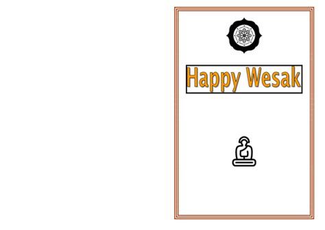 vesak card templates wesak vesak a buddhist celebration buddha day buddha