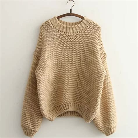 Sweater 3 Second Original 50 casual neck knit sweater df91308eh on luulla