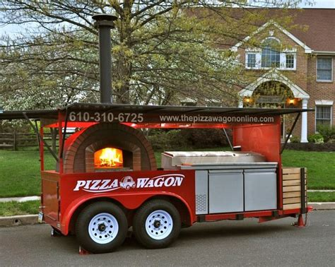 The Pizza Wagon Catering Co Food Truck Features A