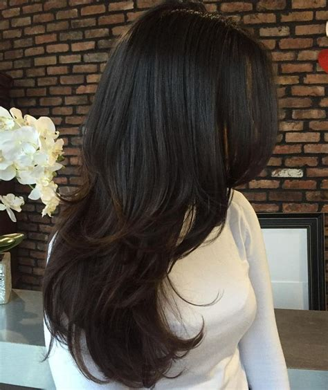 hair style slope longer on front best 25 layered hairstyles ideas on pinterest long hair