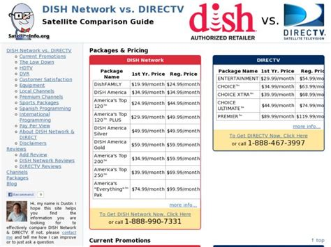 directv vs dish network reviews compare the best 2013 satellite dish network vs directv djangosites org powered by django