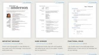 275 free resume templates for microsoft word