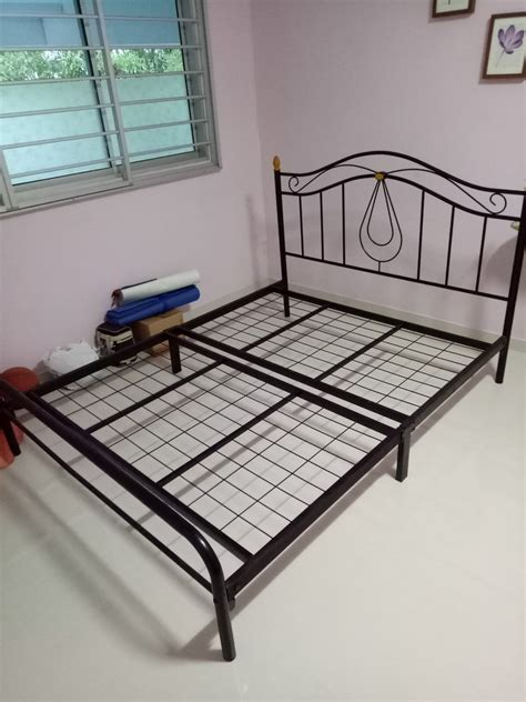 Bed Frames For Sale Size Metal Bed Frame Is For Sale Furniture In