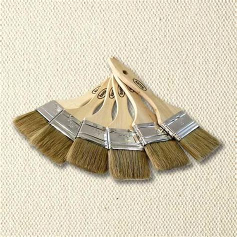 faux painting brushes faux painting 2 quot chip brush set of 6 royal design