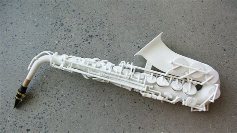How To Make A Paper Saxophone - 3d printed saxophone made with laser and all that jazz