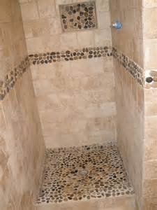 river rock bathroom ideas best 25 river rock shower ideas on rock