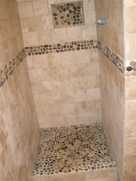 river rock bathroom ideas best 25 river rock shower ideas on pinterest river rock
