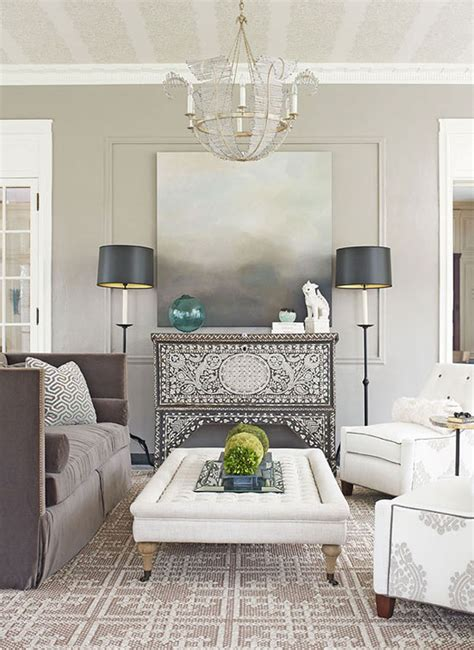 Grey Living Room Color Schemes by Inside Out Design Gray Brown