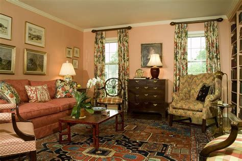 Livingroom Wall Ideas Living Room With Peach Wall Color Interiors Pinterest
