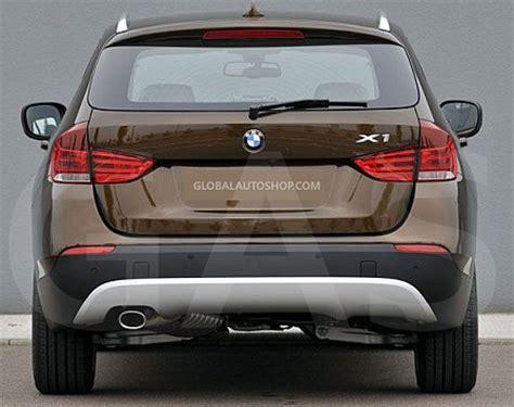 bmw trunk accessories bmw x1 rear chrome trunk lid trim rear chrome trim