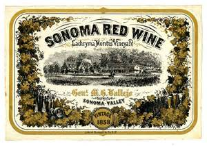 file wine label lachryma montis vineyard sonoma red wine