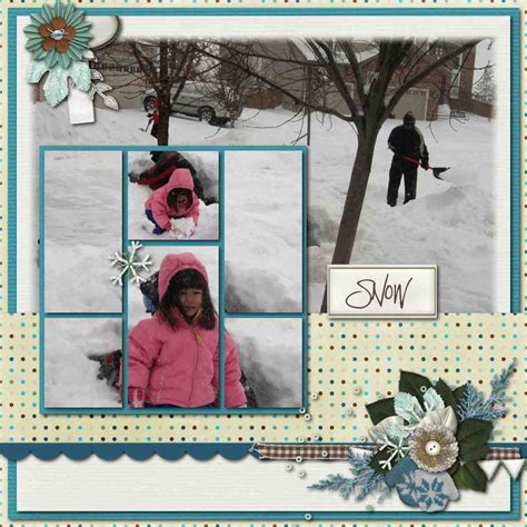Creating Hybrid Scrapbook Layouts The Mad Cropper 3 by 67 Best Ski Snow And Winter Scrapbooking Pages Images On