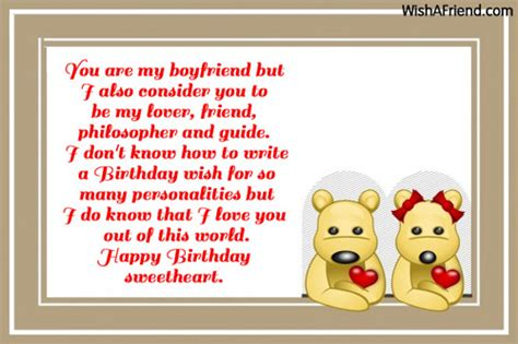 Messages To Write In Boyfriends Birthday Card Boyfriend Birthday Messages