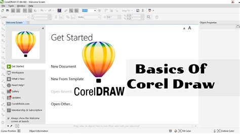 tutorial youtube corel draw 01 corel draw complete tutorial corel draw tutorial in