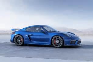 Porsche Gt 4 Geneva 2015 Porsche Cayman Gt4 Revealed Ahead Of Show Debut