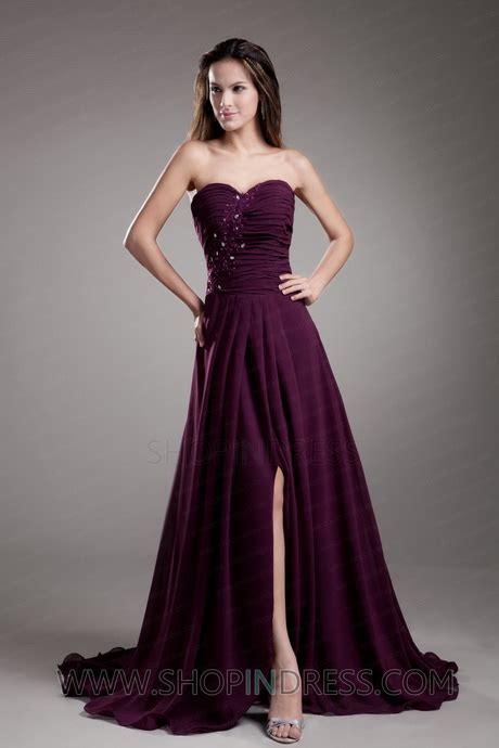 plum colored dresses plum formal dresses