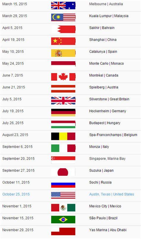Calendario F1 2015 Search Results For F1 2015 Calendar Dates Calendar 2015