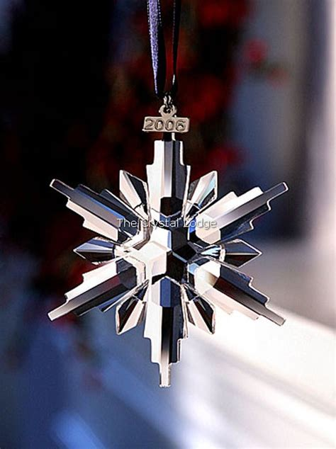 swarovski swarovski 2006 christmas ornament 837613