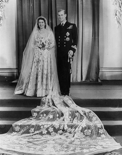 Earliest Recorded Marriage Elizabeth And Prince Philip S Wedding From