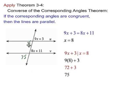Proving Lines Parallel Worksheet Answers by Geometry 3 3 Proving Lines Parallel