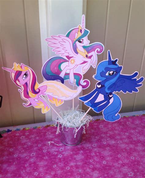 items similar to pony centerpiece rainbow dash