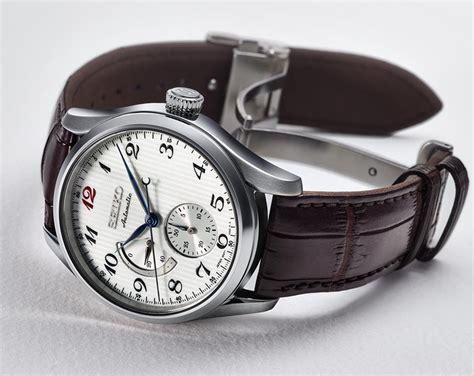 Seiko Velatura Silver Combi White Brown Leather 1 seiko presage spb059j1 swing indonesia