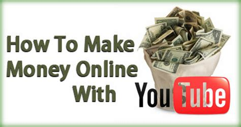 Make Money Online On Youtube - make money on you tube make money on youtube you tube make money