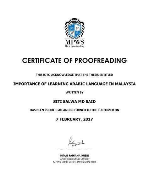 MPWS Rich Proofreading // Your #1 Trusted Proofreading