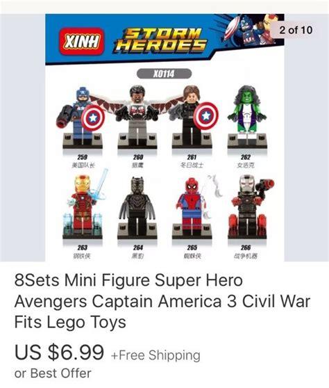 Mainan Lego Heroes Xinh 2 xinh heroes knock lego minifigures lego amino