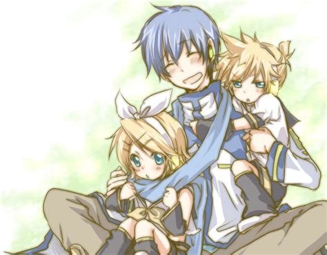 coole len vocaloid images kaito and kagamine len and rin wallpaper