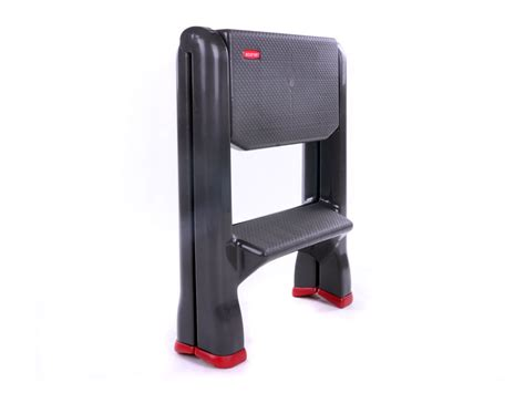 Curver Step Stool by Curver Folding 2 Step Ladder Up To 150kg Slip Proof
