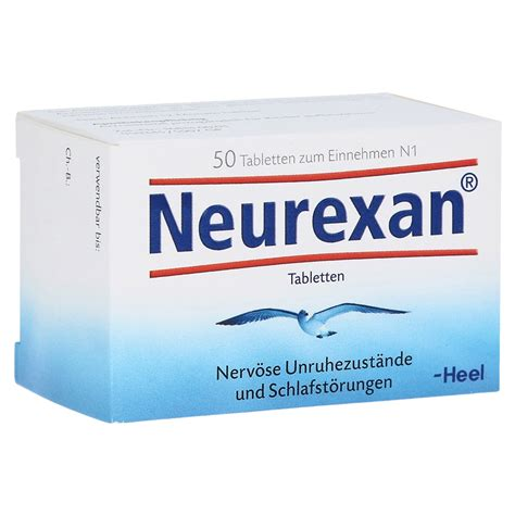 innere unruhe beim einschlafen erfahrungen zu neurexan tabletten 50 st 252 ck n1 medpex