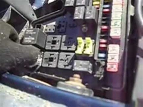 ram fuse box relay  youtube