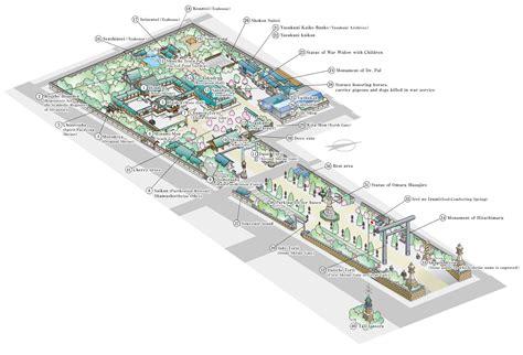 Roof Garden Floor Plan yasukuni le sanctuaire de r 233 f 233 rence pour les sakura 224 tokyo