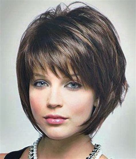 chin length shaggy hairstyles with bangs bob haircuts with bangs for women over 50 bob