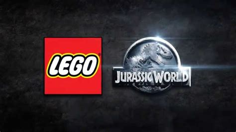 lego jurassic world logo lego jurassic world new trailer and release date revealed