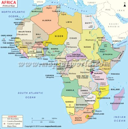 africa map 2011 blank map of africa maps of world