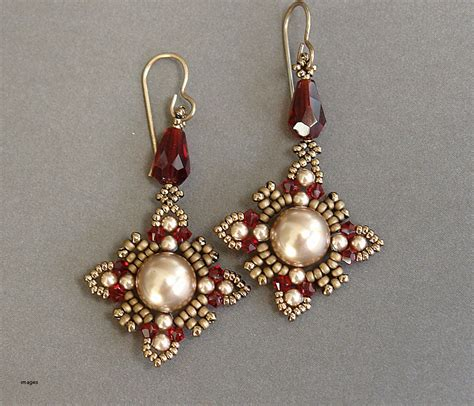 Handcrafted Earrings - gold jewelry luxury how to make gold beaded jewelry how