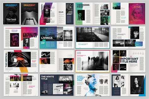 layout artist indesign last chance 15 indesign magazine brochure templates