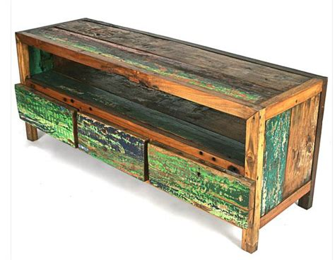 Salvaged Furniture by Best 25 Reclaimed Wood Tv Stand Ideas On