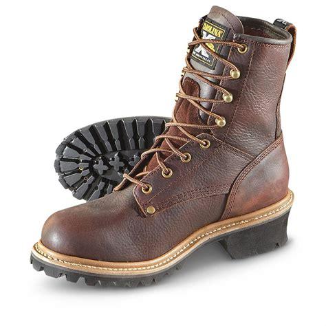 carolina boot s carolina boots 174 logger boots brown 588673 work
