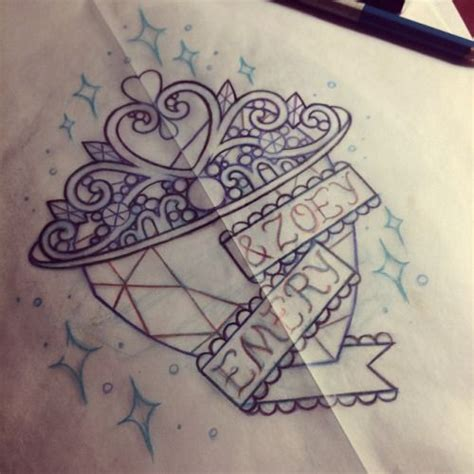 princess tiara tattoo designs 25 best ideas about tiara on