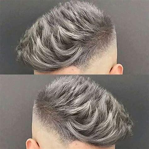 ash blue hair color and cut for men denimhair numinous die besten 25 kurzhaar frisuren m 228 nner ideen auf
