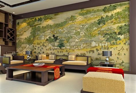 wall living room design living room wall design and ancient painting